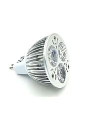 GU5.3 3.5 W 3 X High Power LED 240-300 LM 5000 K Natural White MR16 Spot Lights DC 12 V