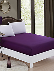 Voilet Mattress Cover Fitted Sheet Queen King Size