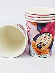 Disney Minnie Mouse Movie Party Supplies Paper Cups 50pcs
