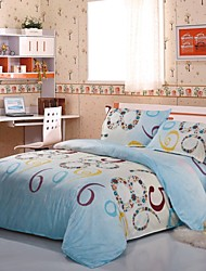 Mingjie Blue Numbers Bedding Sets 4pcs Duvet Cover Sets Bed Linen China Queen Size and Full Size