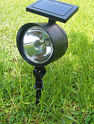 Wedding Décor Solar 4 LED Flood Light Landscape Garden Light Outdoor Garden