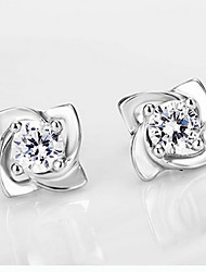 Women's high quality Sterling Silver Earrings