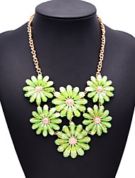 colar de jóia shourouk verde jóias de moda feminina