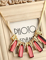 New Arrival Fashional High Quality Geometric Crystal Necklace