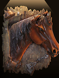 The horse wall act the role ofing