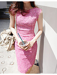 Women's Casual Dress Knee-length Lace