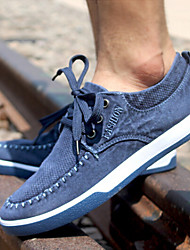 Men's Shoes Casual Denim Fashion Sneakers Blue/Gray