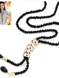 New Arrival Fashional High Quality Crystal Long Necklace