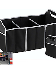 Foldable Containning Box Storage Bag for Car Tonneau Black