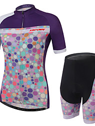 Women's/Unisex Short Sleeve Spring/Summer/Autumn Cycling Suits ShortsBreathable/Ultraviolet Resistant/3D Pads