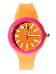 Children's Pattern Digital Silicone Band Quartz Imported machine Analog Wrist Watch