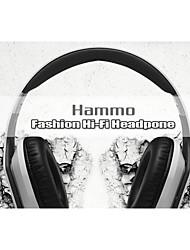 Hammo cable auriculares fishion auriculares de alta fidelidad borned por la música de calidad y vida excelente calidad de sonido