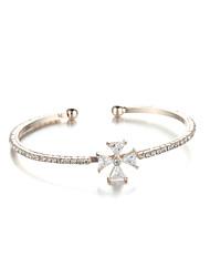 Sjewelry Girls Simple Elegant Rose Gold Plating Bracelet