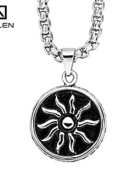 Kalen Men's Jewelry Custom New Design Fashion Stainless Steel Charm Pendant Necklace