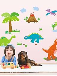 стены стикеры стены наклейки стиль прекрасный динозавра наклейки ПВХ стены