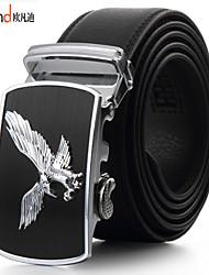 ALLFOND Men Party/Work/Casual Alloy/Leather Calfskin Waist Belt PZD4025-05