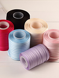 Beautiful Pure Color Polyester Cotton Belt Ribbon-150 Yards(More Colors)