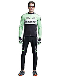 Riding Bicycle Service Men's Clothing Set Speed Surrender Long Sleeved Tour De France Team