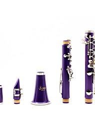 Klarinette Instrument Klarinette Klarinette b der Klarinette (lila)