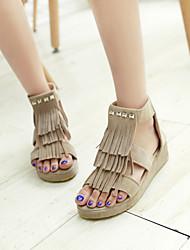 Women's Shoes  Flat Heel Gladiator Sandals Office & Career/Casual Black/Yellow/Beige