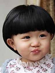 beaux enfants studio de champignons tête perruque dédié 4-8 dédié à l'âge de l'enfant