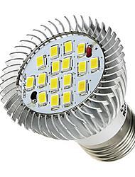 7W E26/E27 Точечное LED освещение 16 SMD 5630 520-550 lm Холодный белый AC 85-265 V 1 шт.