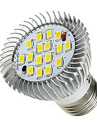 7W E26/E27 Spot LED 16 SMD 5630 520-550 lm Blanc Froid AC 85-265 V 1 pièce