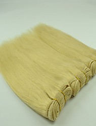 "3Pcs/Lot  14""-26""Unprocessed Brazilian Weaving Hair Blonded Color #613 Silky Straight Hair Bundles"