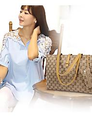 Handbag Leather Shoulder Bags With Animal Print/Metal