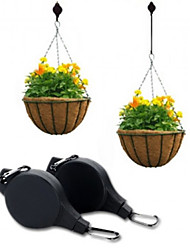 Easy Reach Plant Pulley Hanging Flower Pot Hanger Holder