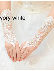 Voile/Tulle Wrist Length Wedding/Party Glove
