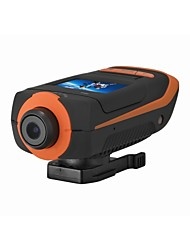 100% New Brand 5Mega HD 1080P 4xZoom Bicycle Helmet Camera Sport Mini DV Action Waterproof Camera AT90