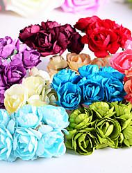 """Bouquets de Noiva Forma-Livre Rosas Decorações Casamento / Festa / noite Papél 0.78""""(Aprox.2cm)"""