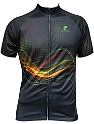 JESOCYCLING Cycling Tops / Jerseys Women's / Men's BikeBreathable / Ultraviolet Resistant / Quick Dry / Front Zipper / Lightweight