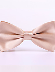 Pure Color Bow Tie Marriage