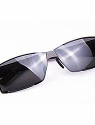 Sunglasses Men's Classic / Polarized Hiking Black / Silver / Gold / Gray Sunglasses / Driving Half-Rim