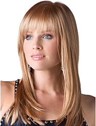 Natural Short Straight High Quality Capless  Mono Top Human Hair Wigs Seven Colors to Choose