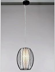 American retro lantern shaped aluminum wire Chandelier