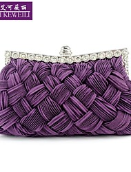 AIKEWEILI®Women's Bags Fashion Silk Weave Evening Bag Europe New Style Hot Party Bag Lady's Purse Bride Clutch Bag