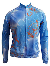 Getmoving Bike/Cycling Jersey / Tops Women's Long Sleeve Breathable / Anatomic Design / Anti-Insect / Back Pocket 100% Polyester Dark Gold