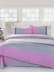 Mingjie Pink Texture Bedding Sets 4pcs Duvet Cover Sets Bed Linen China Queen Size and Full Size