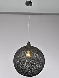 American country ball type creative paper rattan Chandelier