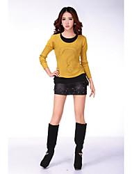 2015 knitting fashion korean free size pure cashmere sweater women