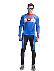 Riding Bicycle Service Men's Clothing Set Speed Long Sleeved Blue King Surrender