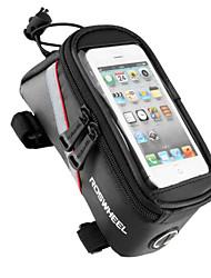 ROSWHEEL® Bolsa de Bicicleta 1.8LBolsa para Quadro de Bicicleta / Bolsa Celular Multifuncional / Touch Screen Bolsa de BicicletaPVC /