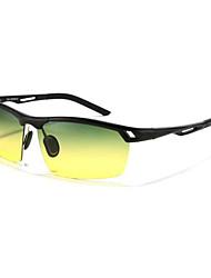 hombres 's Gradient/Polarizada/100% UV400 Envuelva Gafas de Sol