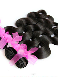 "8""-24"" Brazilian Virgin Hair Body Wave Human Hair Extensions Natural Black Hair Weaves Hot Sale"