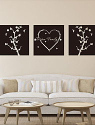 Wall Stickers Wall Decals , Warm Family Sticker PVC Wall Stickers