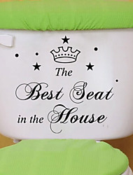Wall Stickers Wall Decals, Style Best Seat English Words & Quotes PVC Wall Stickers