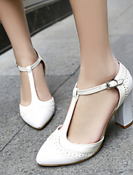 Women's Shoes Chunky Heel Pointed Toe Loafers Casual Shoes More Colors available